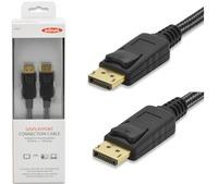 Ednet DisplayPort v1.2 (M) to DisplayPort v1.2 (M) Monitor Cable (2m) image