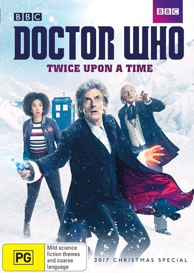 Doctor Who: Twice Upon a Time on DVD image