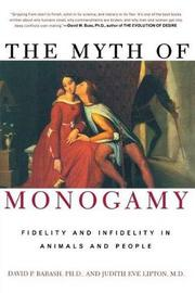 The Myth of Monogamy by Barash David image