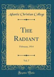 The Radiant, Vol. 7 by Atlantic Christian College image