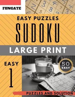 Easy Sudoku Puzzle Book by Johan Publishers