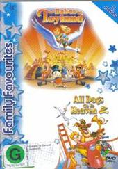 Babes In Toyland / All Dogs Go To Heaven 2 on DVD