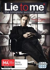 Lie to Me - Season 2 on DVD