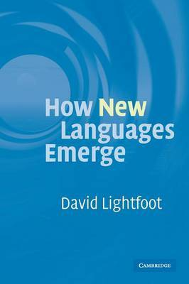 How New Languages Emerge by David Lightfoot image