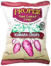 Proper Crisps Kumara 100g image