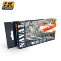 AK US Navy Camouflages 2 Paint Set