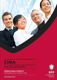 CIMA Performance Operations: Practice and Revision Kit by BPP Learning Media image