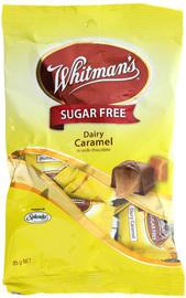 Whitmans Sugar Free Dairy Caramels 150g