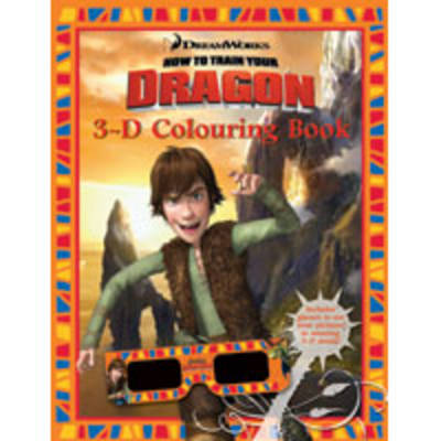 How to Train Your Dragon 3D Colouring Book