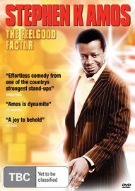 Stephen K Amos - Live: The Feelgood Factor on DVD