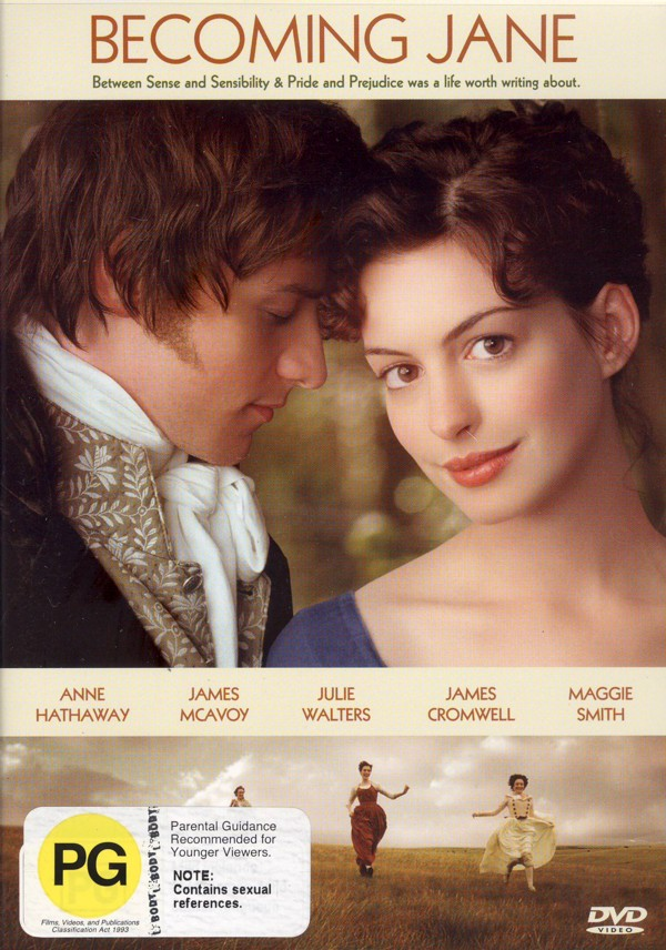 Becoming Jane on DVD image