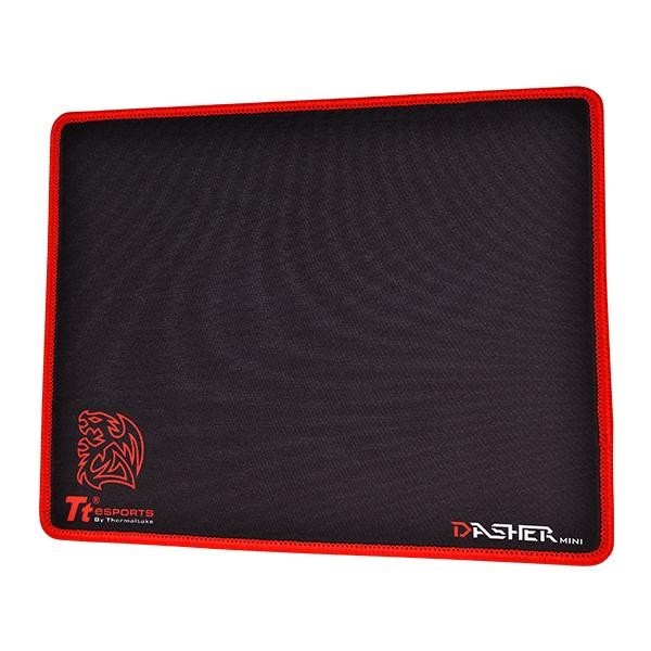 Thermaltake Dasher Red Mini Mouse Pad for PC Games image