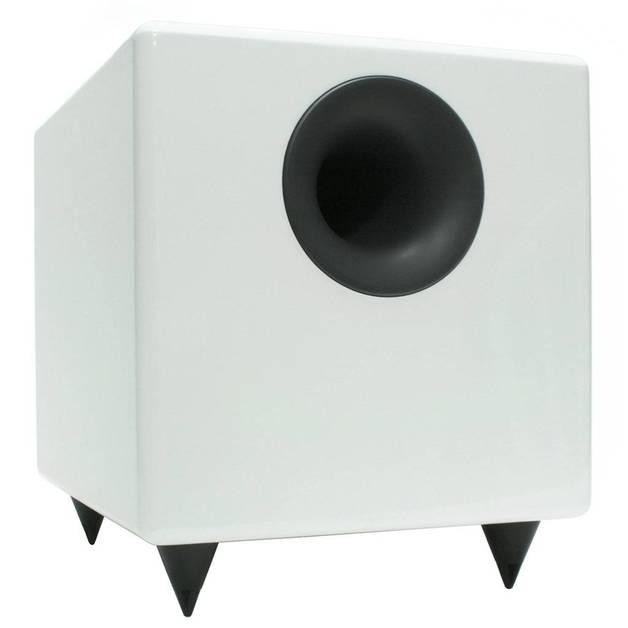 Audioengine: S8 Powered Subwoofer - Hi-Gloss White