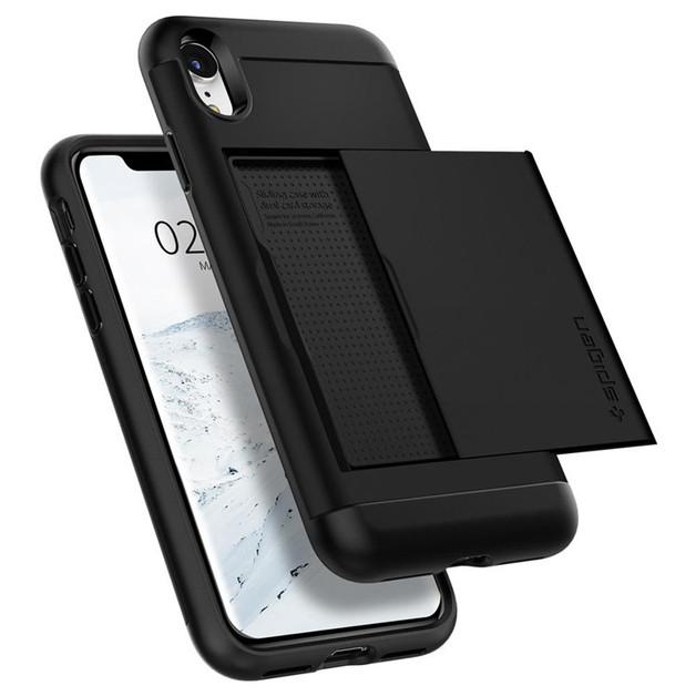 Spigen: Slim Armor CS Case for iPhone XR - Black