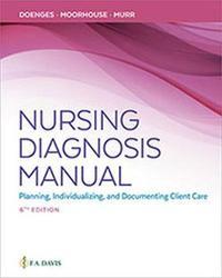Nursing Diagnosis Manual by Marilynn E Doenges