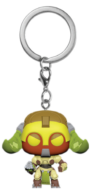 Overwatch - Orisa Pop! Keychain