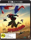Spider-Man: Into the Spider-Verse on Blu-ray, UHD Blu-ray, DC