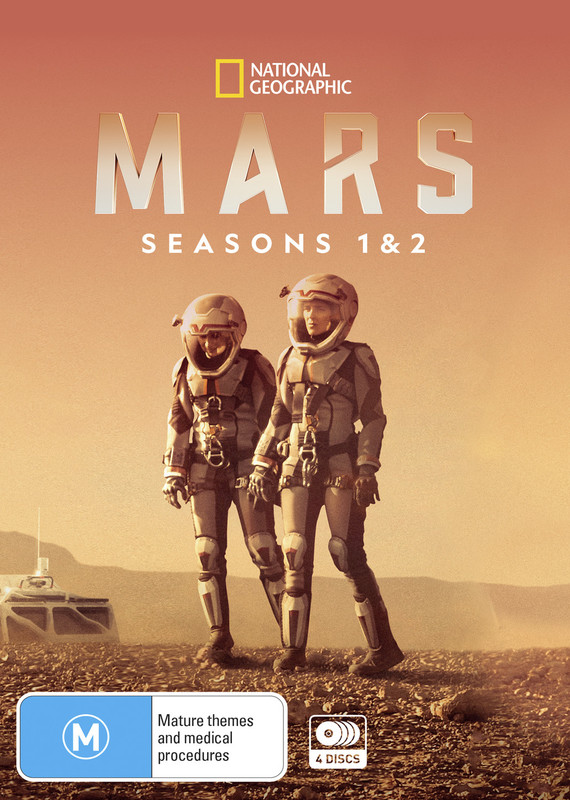 Mars: Seasons 1 & 2 on DVD