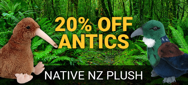 20% off Antics Native Plush!