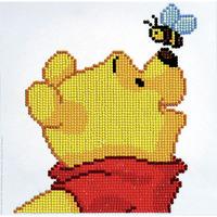 Diamond Dotz: Disney Facet Art Kit - Pooh with Bee (22 x 22cm)
