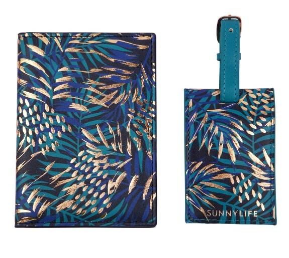 Sunnylife: Passport Set - Electric Bloom (Set of 2)