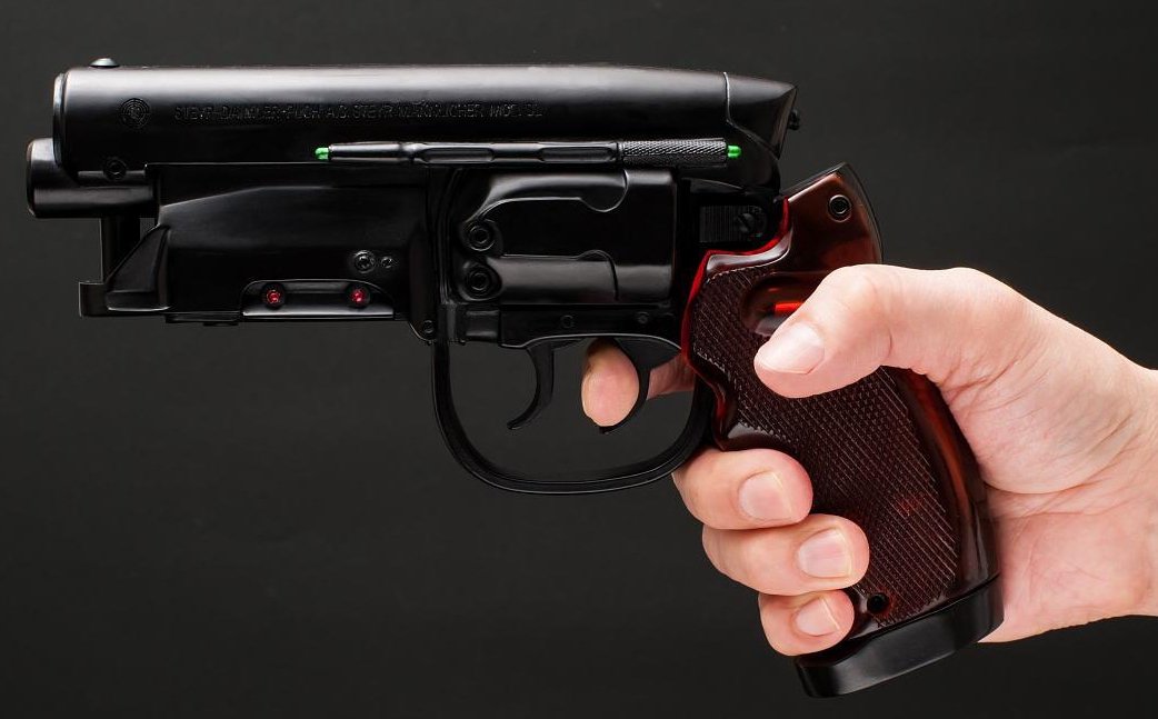 Blade Runner Blaster Gun Prop Replica At Mighty Ape