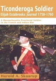 Ticonderoga Soldier by Harold A Skaarup image