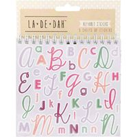 La De Dah: Alphabet Sticker Book
