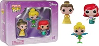 Dinsey Princess - Belle, Ariel & Tinkerbell Pocket Pop! Vinyl Mini Figure (3 Pack)