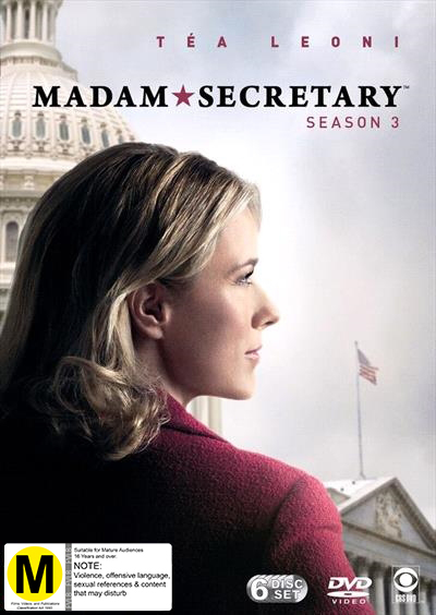Madam Secretary - Season 3 on DVD
