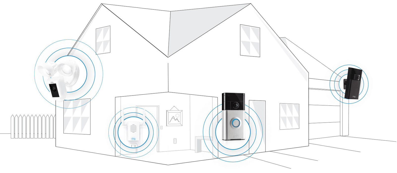 Ring: Video Doorbell - Satin Nickel image