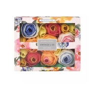 Vintage & Co: Patterns & Petals Soap Flowers (70g)