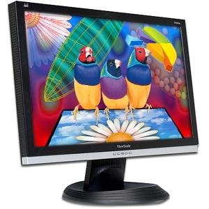 "Viewsonic VA2026W 20"" Wide LCD 1680x1050 5ms Black/Silver image"