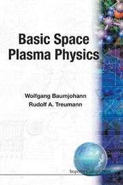 Basic Space Plasma Physics by Wolfgang Baumjohann