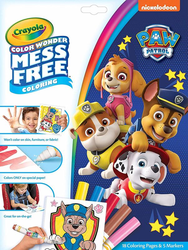 Crayola: Colour Wonder Foldalope Pack - Paw Patrol