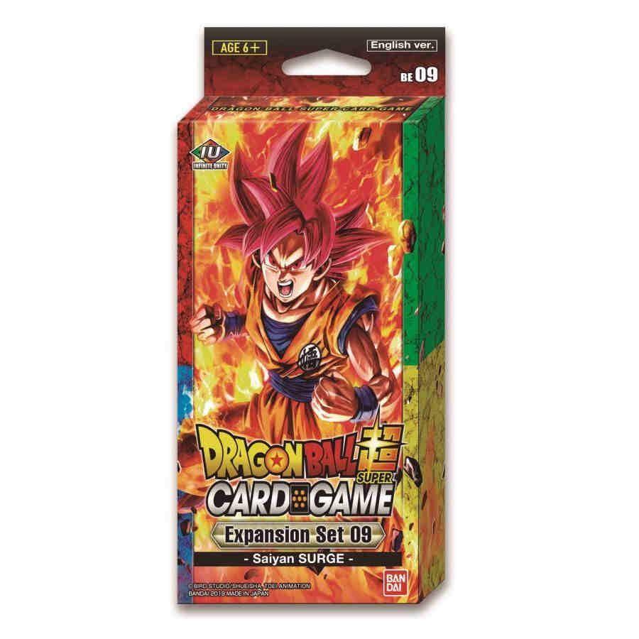 Dragon Ball Super Card Game Expansion Set #9 Saiyans Surge image