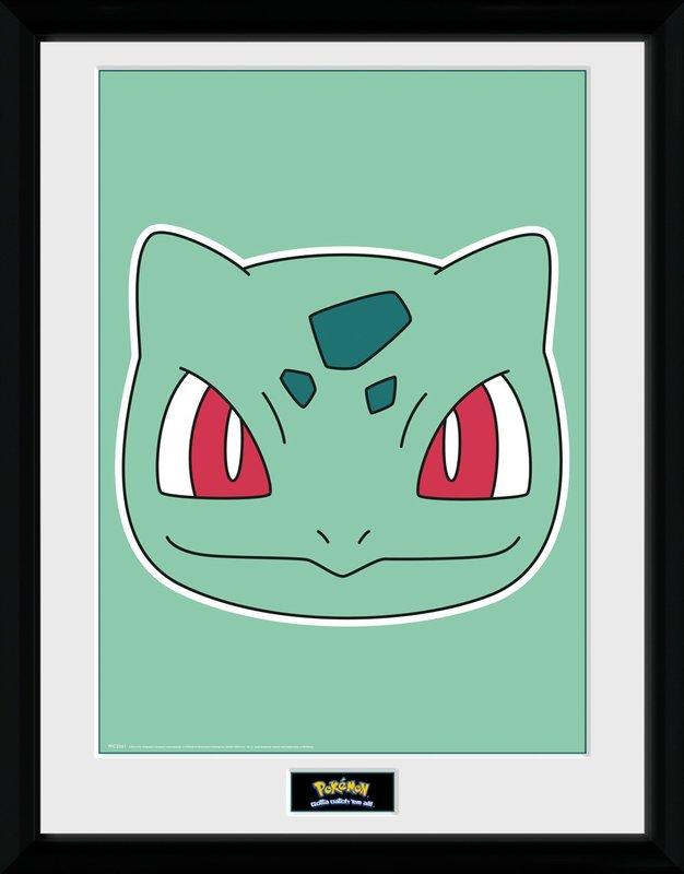 Pokemon: Bulbasaur's Face - Collector Print (41x30.5cm)