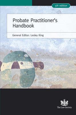Probate Practitioner's Handbook image