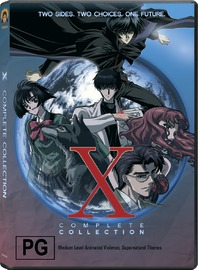 X - Complete Collection (3 Disc Box Set) on DVD image