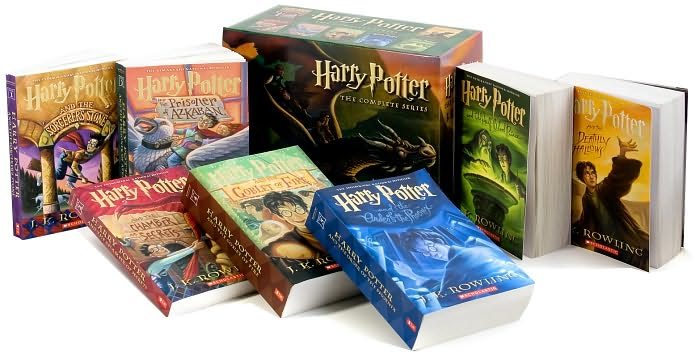 Harry Potter Box Set (Complete Vol 1-7) by J.K. Rowling image