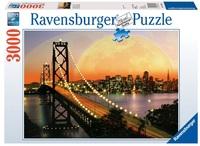 Ravensburger 3000 Piece Jigsaw Puzzle - Amazing San Francisco