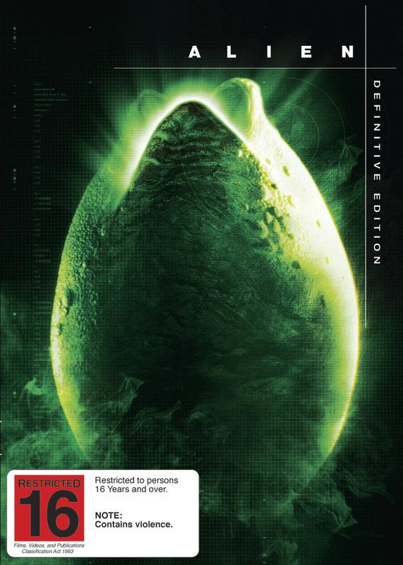 Alien - Definitive Edition on DVD