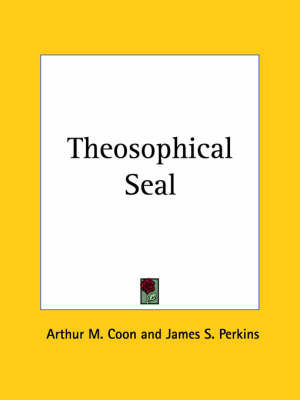 Theosophical Seal (1958) by Arthur M. Coon