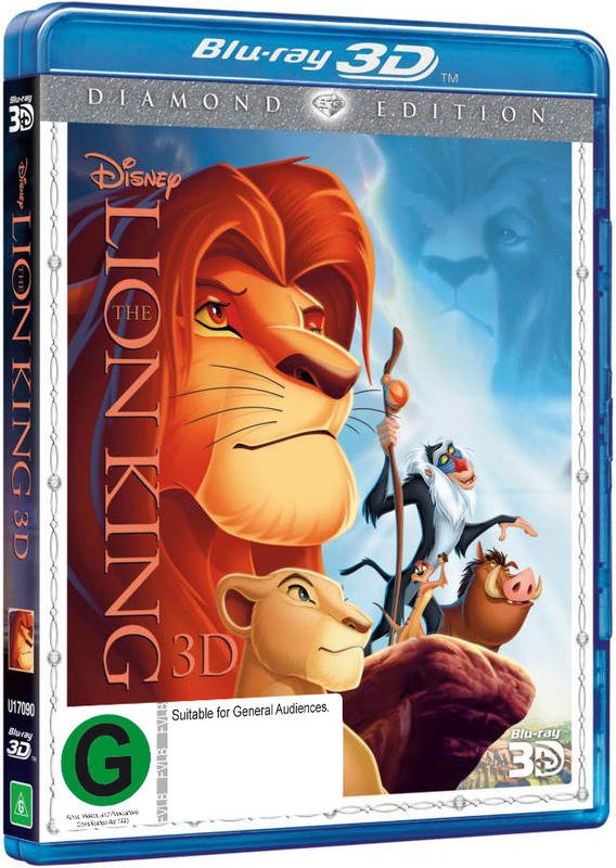The Lion King 3D on Blu-ray, 3D Blu-ray