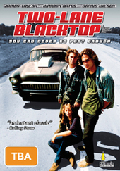 Two Lane Blacktop on DVD