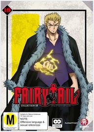 Fairy Tail - Collection 18 (eps 200-212) on DVD