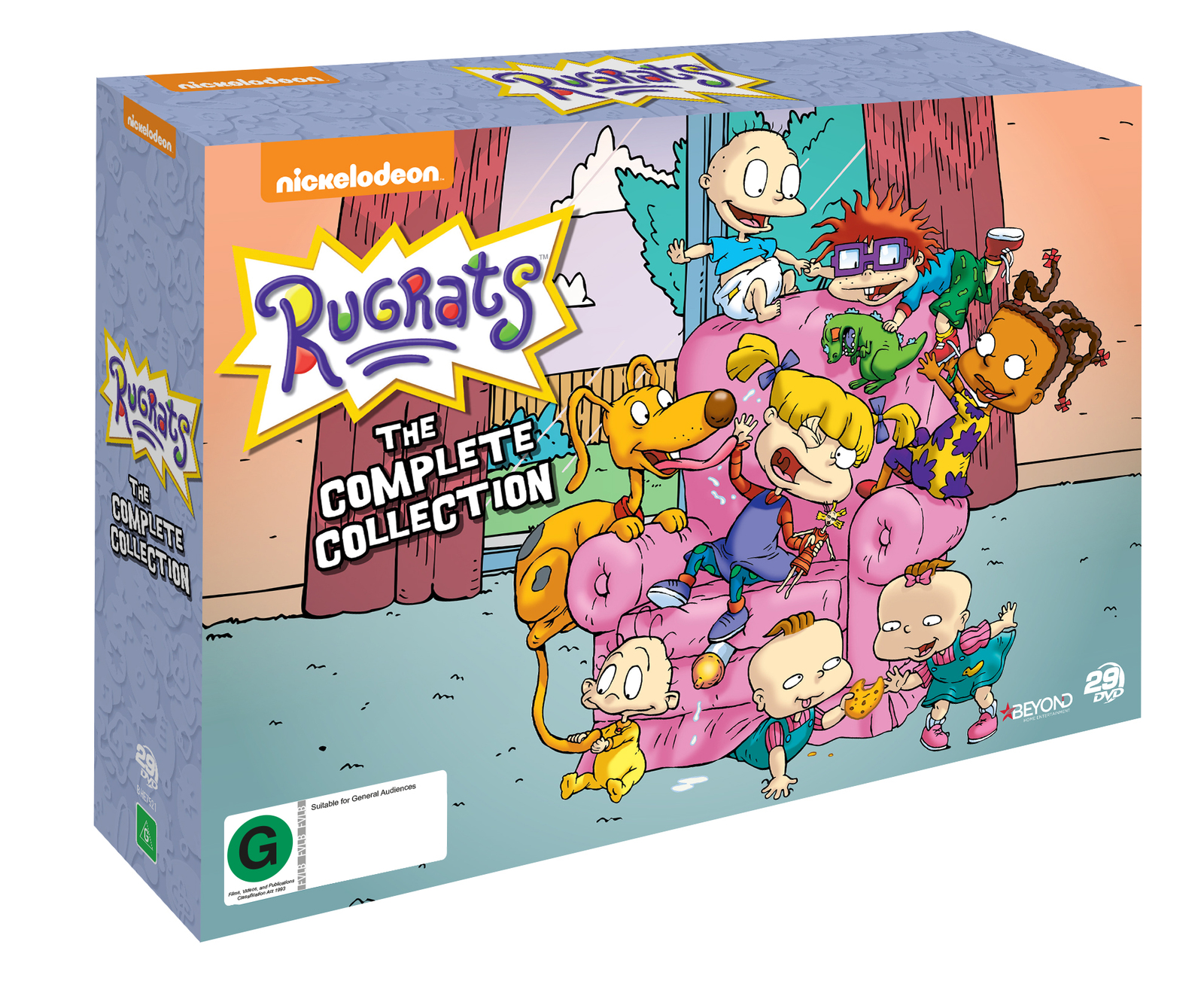 Rugrats Complete Collection   DVD   Buy Now   at Mighty Ape NZ