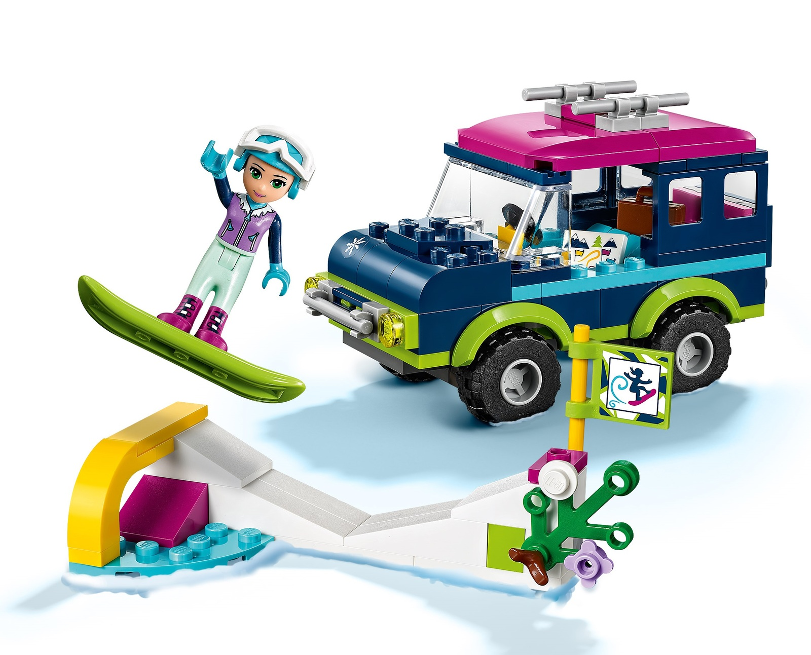 LEGO Friends: Snow Resort Off-Roader (41321) image