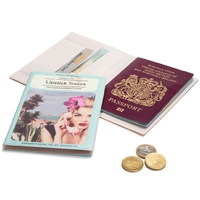 Monkey Business: A Novel Passport Cover (Romance)