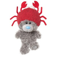 My Dinky Bear - Wearing Crab Hat